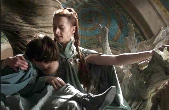 Robin Arryn breastfeeding