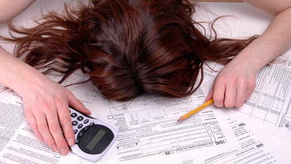 sleep on taxes