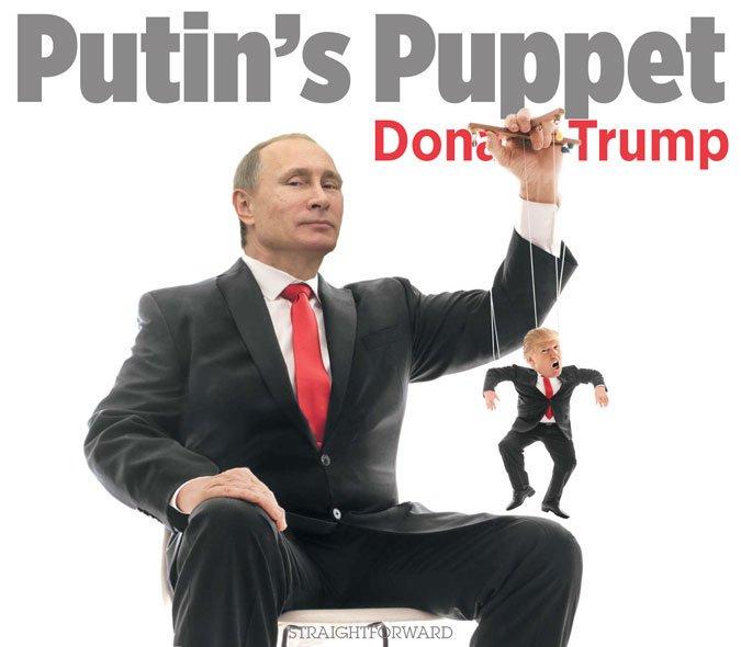 Putin Russia Puppet master Trump