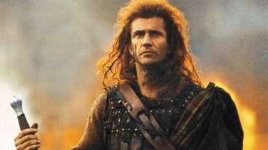 Mel Gibson as Braveheart