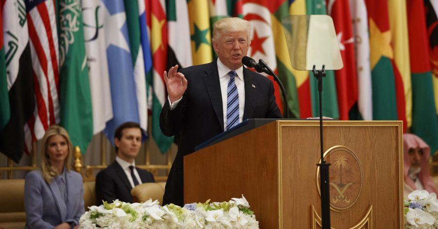 trump saudi arabia speech ivanka jared kushner