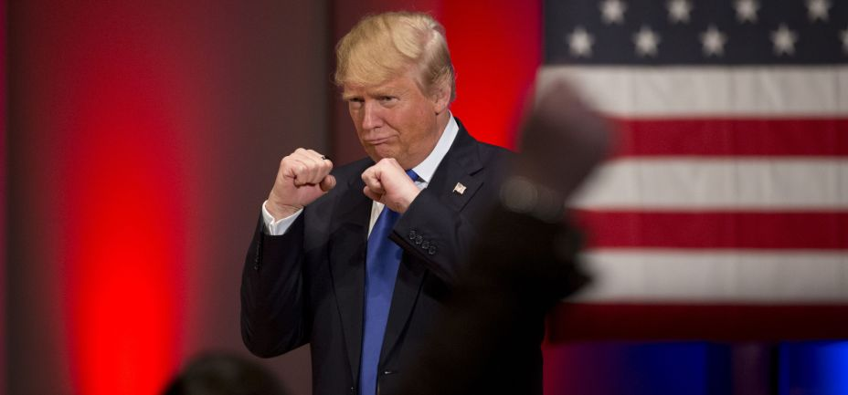 trump fists fighting local man fucking invincible
