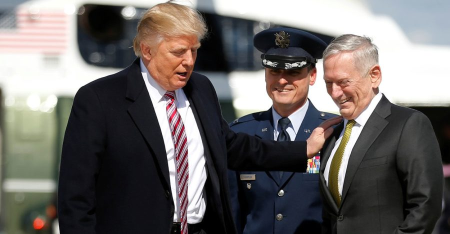 Donald Trump James Maddog Mattis Military